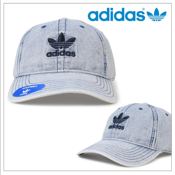 9f7a03f6265 Adidas OG RELAXED STRAPBACK MENS HAT